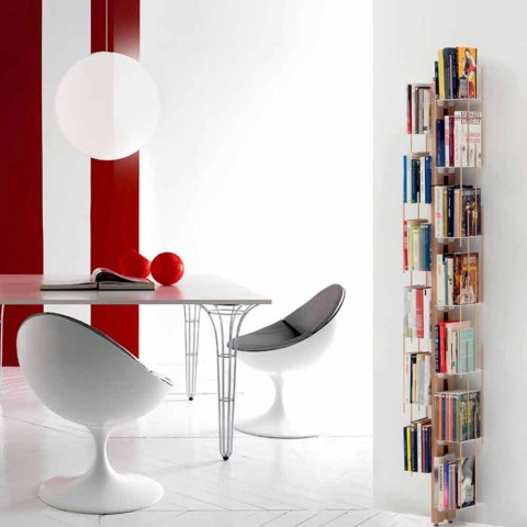 Zia Veronica moderna librería de suelo hecha en Italia