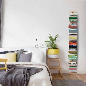 Librería de pared de madera Zia Ortensia hecha en Italia
