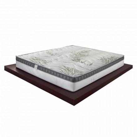 Colchón individual de alta calidad con memoria de 25 cm de alto Hecho en Italia - Idea