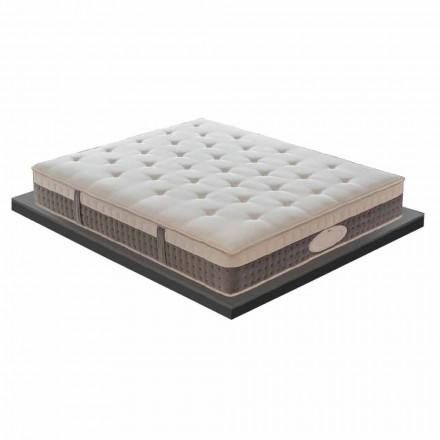 Un colchón y medio en memoria de alta calidad H 25 cm - Silvestro