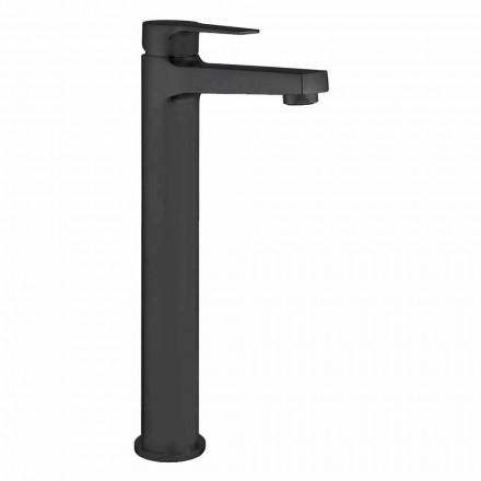 Mezclador de lavabo alto de latón sin desagüe Made in Italy - Sindra