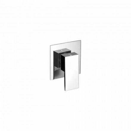 Mezclador de ducha empotrado de latón de diseño Made in Italy - Panela