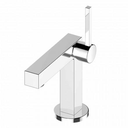 Mezclador de lavabo de baño en latón cromado de alta calidad - Girino
