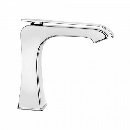 Mezclador de lavabo moderno de latón Made in Italy - Bonina