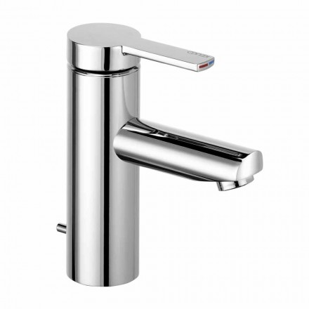 Mezclador monomando de lavabo de latón, diseño precioso - Zanio
