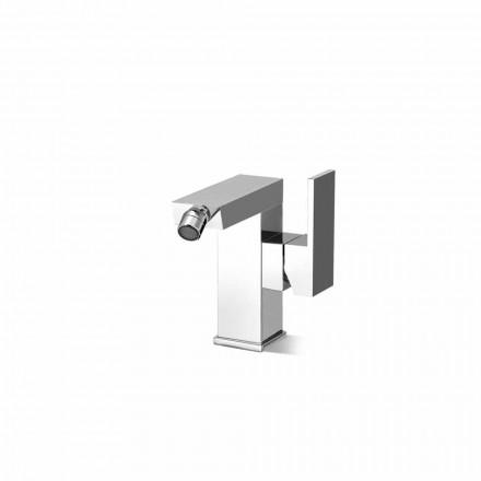 Mezclador de bidé con palanca lateral sin desagüe Made in Italy - Panela
