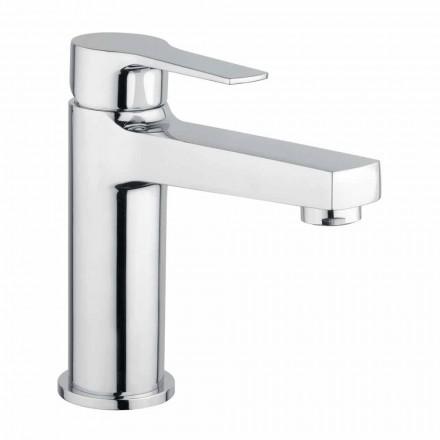 Mezclador de lavabo de baño de latón sin desagüe Made in Italy - Sindra