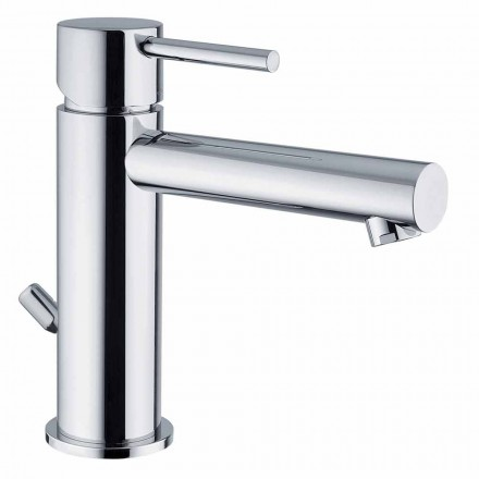 Mezclador de lavabo de latón acabado cromado Made in Italy - Ermia