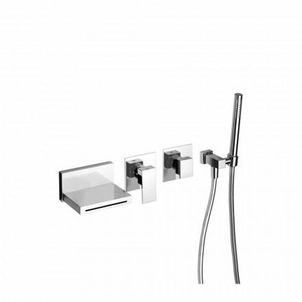 Mezclador de bañera empotrable de diseño Made in Italy - Panela