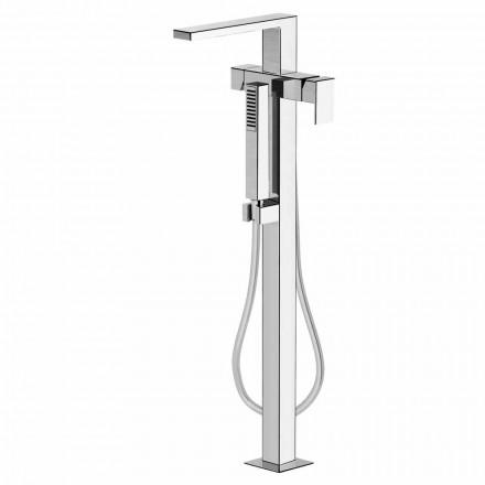 Mezclador de baño de suelo moderno Made in Italy - Pirio
