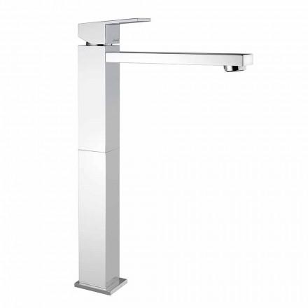 Mezclador de lavabo extendido sin desagüe Made in Italy - Medida