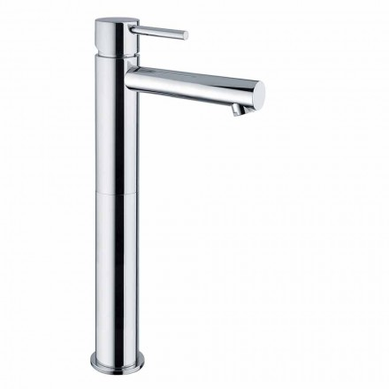 Mezclador de lavabo extendido de latón sin desagüe Made in Italy - Ermia