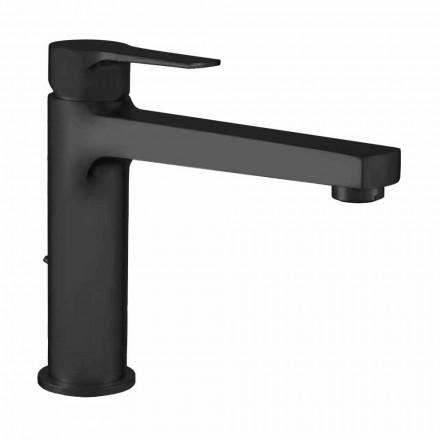Mezclador extendido sin desagüe para lavabo en latón Made in Italy - Sindra