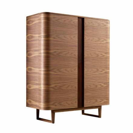 Mueble de diseño en 2A Grilli de madera maciza York fabricado en Italia