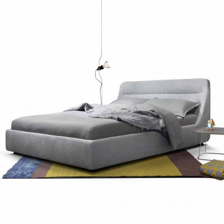 Diseño de cama doble tapizada My Home Sleepway made in Italy