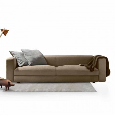 Sofá My Home Softly One de diseño moderno fabricado en Italia