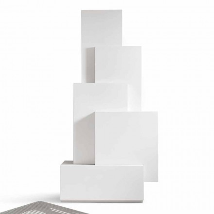 Mueble de sala de estar de diseño de MDF móvil My Home Tetris fabricado en Italia