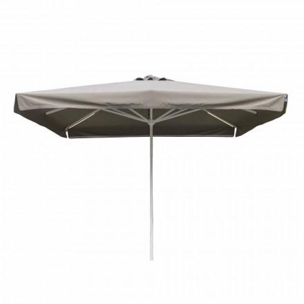 Paraguas exterior de tela con estructura metálica Made in Italy - Solero