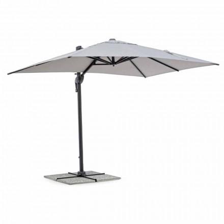 Sombrilla de jardín, 2x3 en poliéster con poste de aluminio antracita - Coby