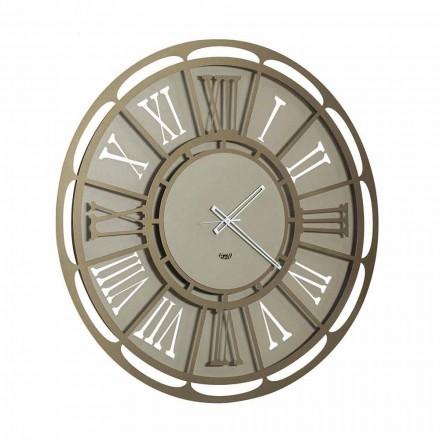 Reloj de pared moderno de hierro hecho en Italia - Classicone