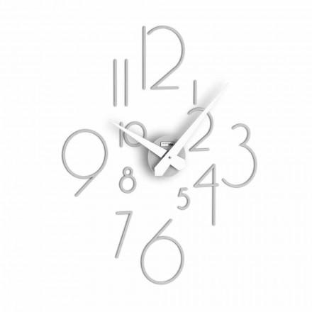 reloj de pared del diseño moderno de Marte grande, fabricado en Italia