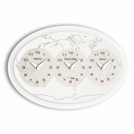 Reloj de pared moderno modelo Zed Big