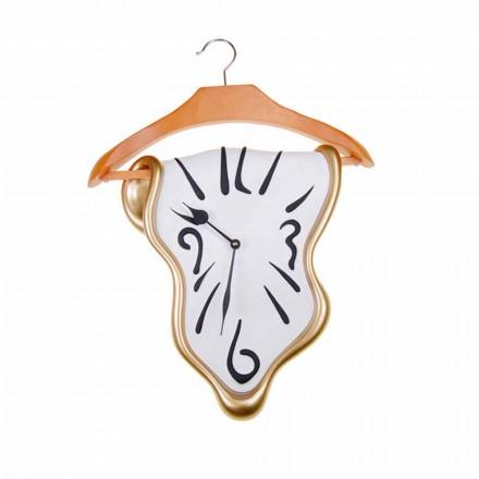 Reloj de pared de diseño en resina pintada a mano Made in Italy - Mailo
