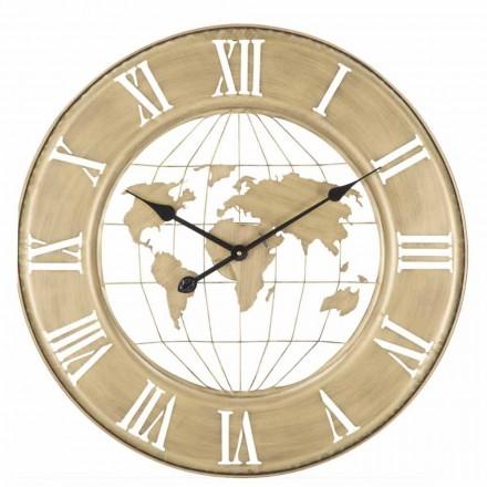 Reloj de pared de hierro de diseño moderno de 63 cm de diámetro - Telma