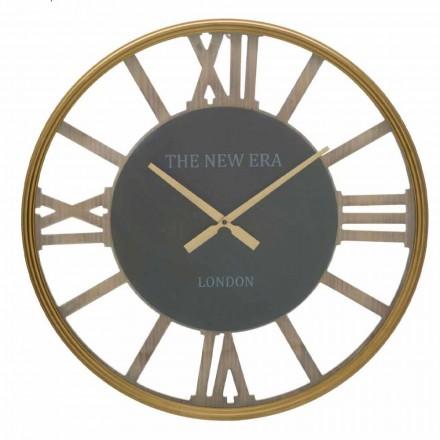 Reloj de Pared Redondo Diámetro 60 cm de Diseño en MDF - Krizia