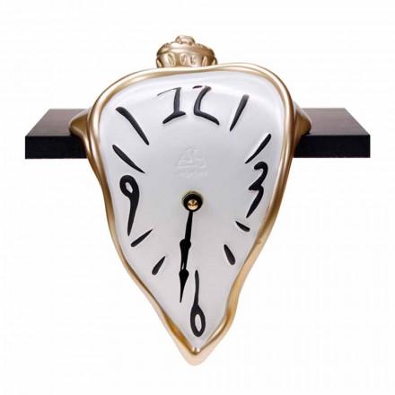 Reloj de mesa de resina con mecanismo de cuarzo Made in Italy - Cate