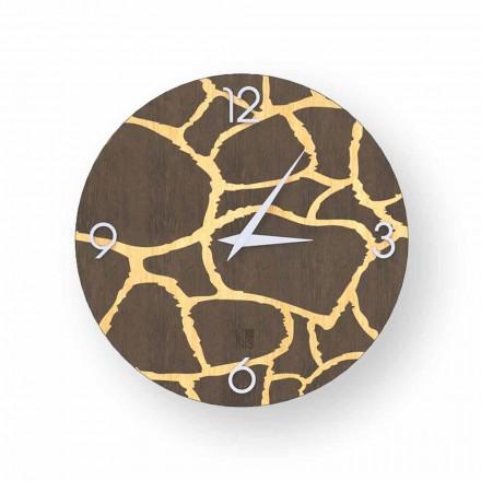 Reloj de pared Acri en diseño moderno, hecho en Italia.