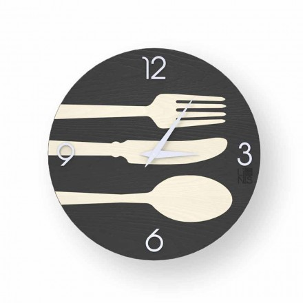 Clivio reloj de pared de diseño moderno hecho en Italia.