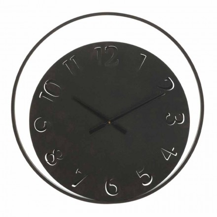 Reloj de pared redondo Diámetro 60 cm Moderno en hierro - Beatrix