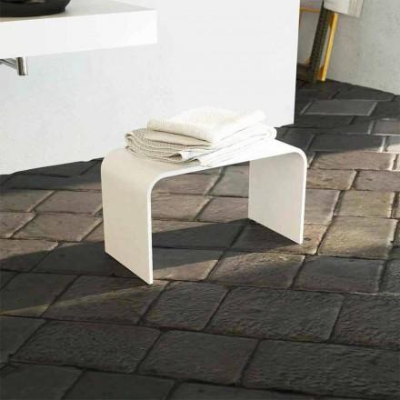 Banco de baño largo de diseño moderno producido en Italia Recanati