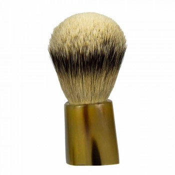 Brocha de afeitar artesanal de pelo de tejón Made in Italy - Euforia