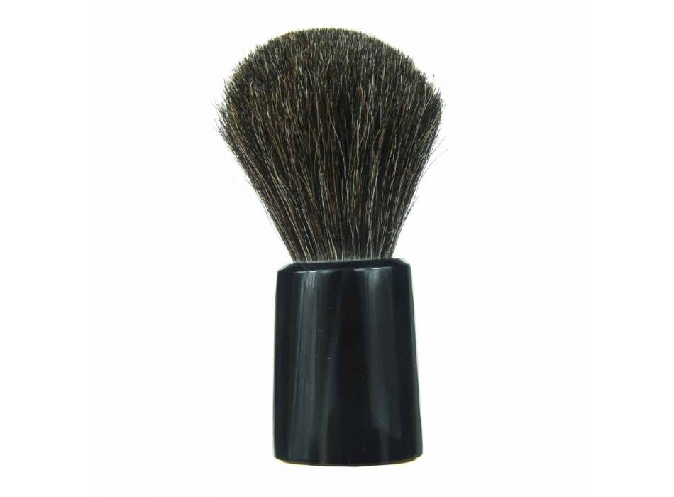 Brocha de afeitar hecha a mano con cerdas de crin Made in Italy - Euforia