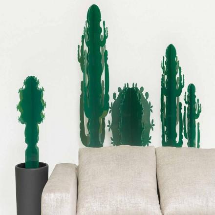Planta ornamental en plexiglás, en varios colores, H 102 cm, Braies.