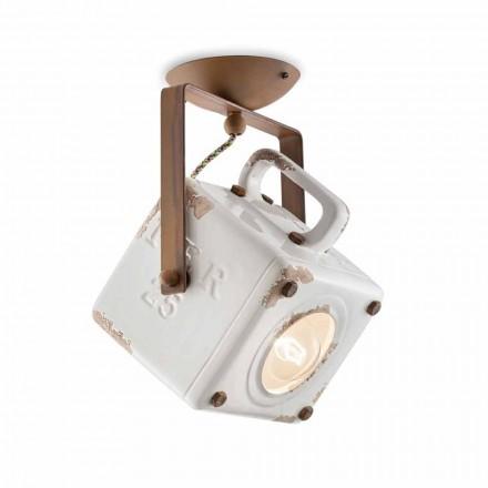 Techo Square lámpara de techo proyector orientable vendimia Kaylee