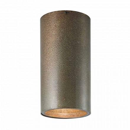 Plafón industrial de hierro o latón Girasoli Il Fanale