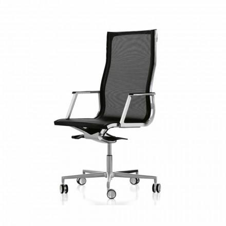 Sillón ergonómico de diseño moderno para oficina Nulite Luxy