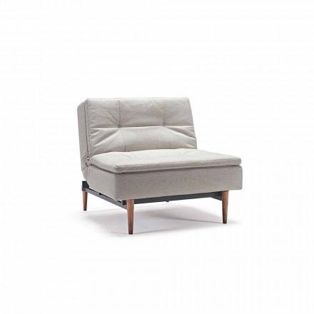 Sillón cama de diseño regulable en 3 posiciones Dublexo