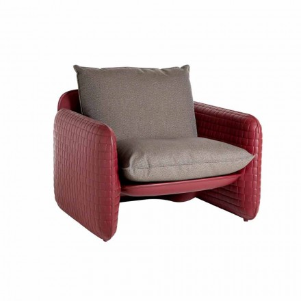 Silla lounge de exterior con almohadas impermeables - Mara Slide