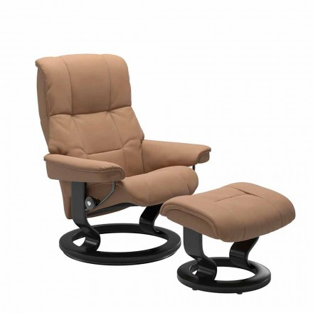Sillón reclinable de cuero de Stressless - Mayfair