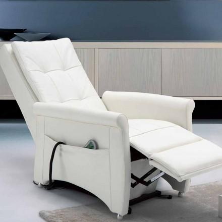 sillón relajante diseño alzapersona 2 motores Via Roma