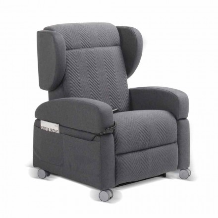 relajarse 4 motores fabricados en Italia Giglio, diseño moderno sillón ortopédica