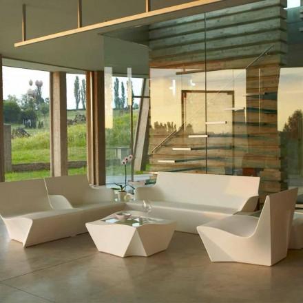 Sillón lounge de diseño moderno Slide Kami Ichi hecho en Italia