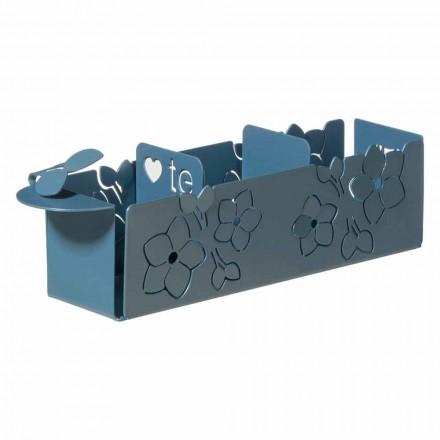 Porta The Sachets de The Floral of Modern Design en hierro Made in Italy - Marken