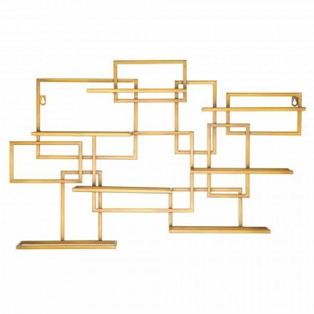 Portabotellas de mesa horizontal de diseño en hierro - Berti