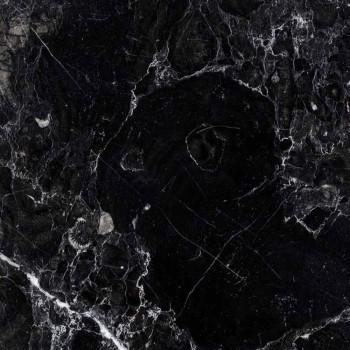 Candelabro de mármol Carrara, Marquinia y latón Hecho en Italia - Braxton
