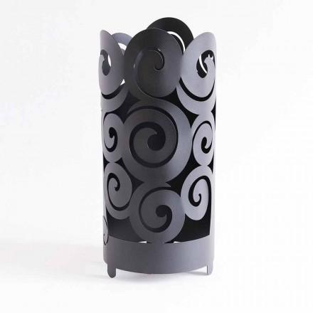 Paragüero de diseño moderno en hierro coloreado hecho en Italia - Astolfo